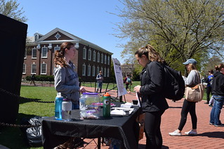 Students take to the central green in support of IJM