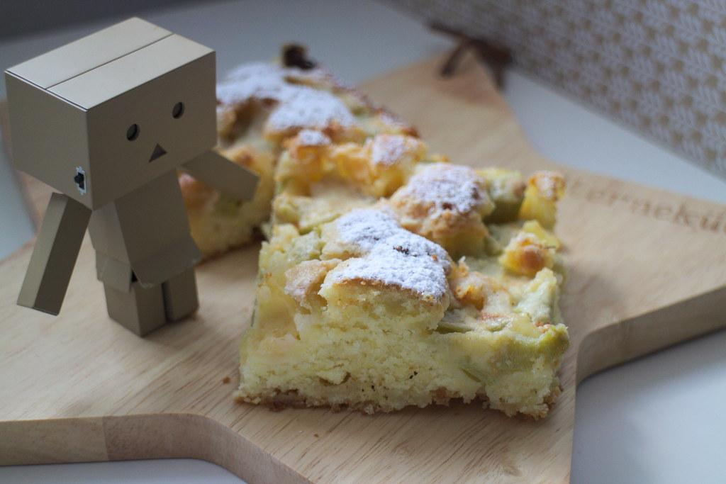 Rhabarber Kuchen mit Danbo Mini