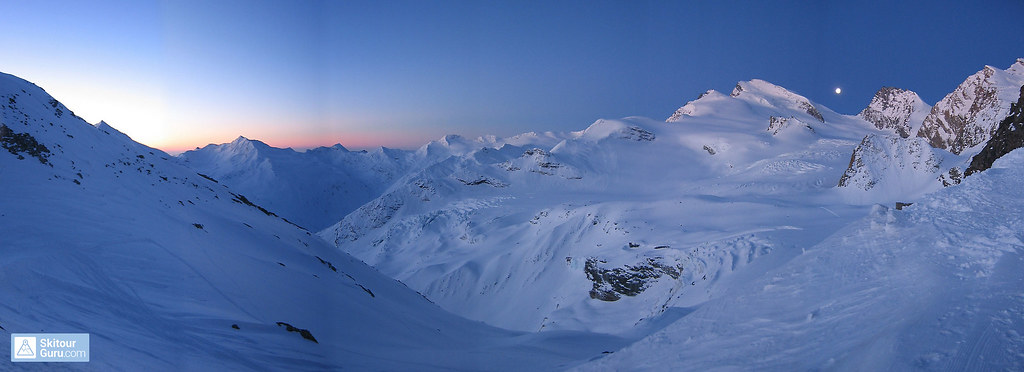 Strahlhorn Walliser Alpen / Alpes valaisannes Schweiz foto 03