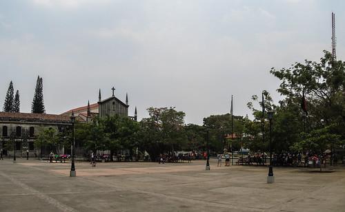 Léon: la plaza central