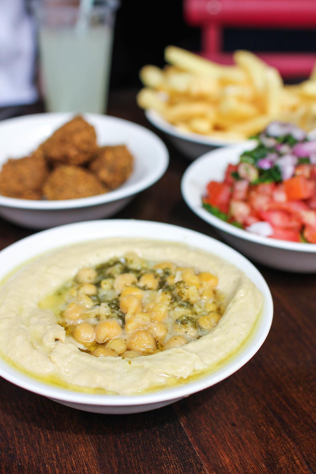 Hummus at Ben Sira, Jerusalem | Adelante