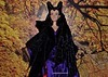 "Young Maleficient 17"" Doll Disney Store Before Repaint - Sleeping beauty"