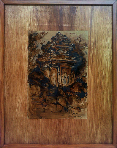 I Made Ardiana Prasada Mangening, 25 x 20 cm, Mixed Media on Paper 2016