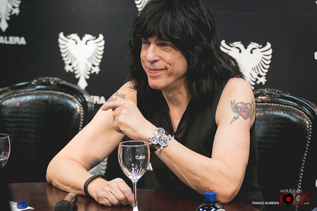 Entrevista coletiva do Marky Ramone em SP (Exclusivas)