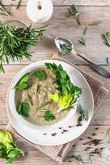 Herusalem Artichoke Cream Soup