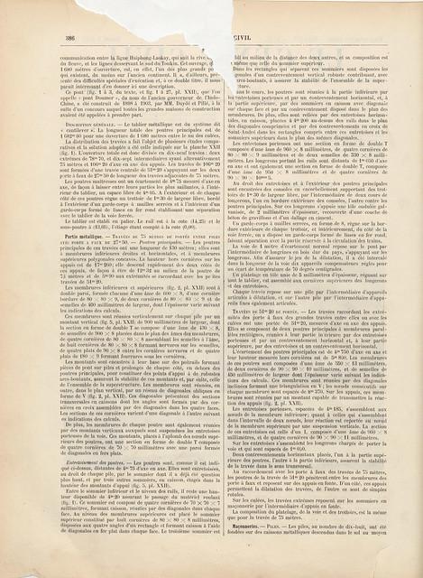 LE GÉNIE CIVIL 1909-04-03 (2) - CẦU LONG BIÊN