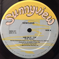 NEWCLEUS:JAM ON IT(LABEL SIDE-A)