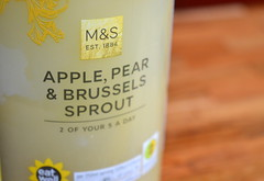 Brussels Sprout drink from M&S