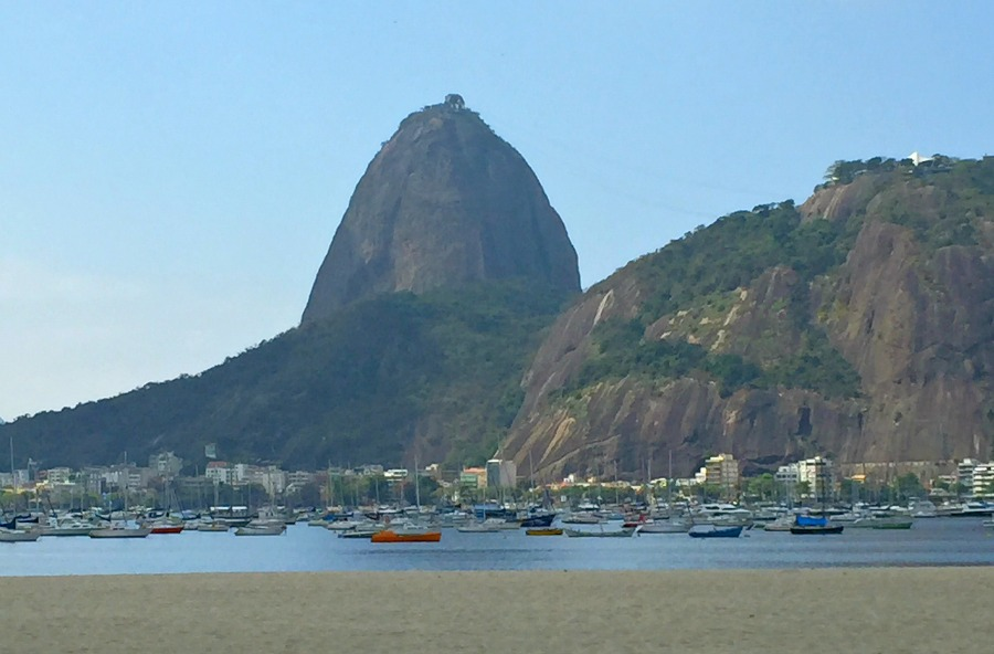 Brazil's Sugarloaf Mountain
