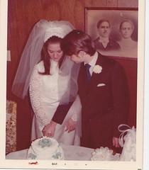 Gawne, Bill and Paula, wedding 2