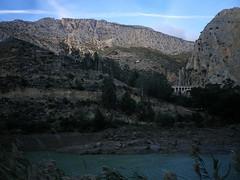 El Chorro canyon layers