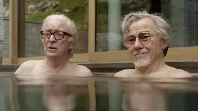 Michael Caine and Harvey Keitel lament the things they can't remember in YOUTH.