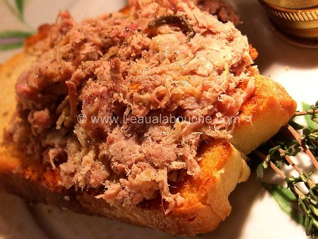 Rillettes de Canard et de Porc au Poivre Rouge © Ana Luthi Tous droits réservés 02