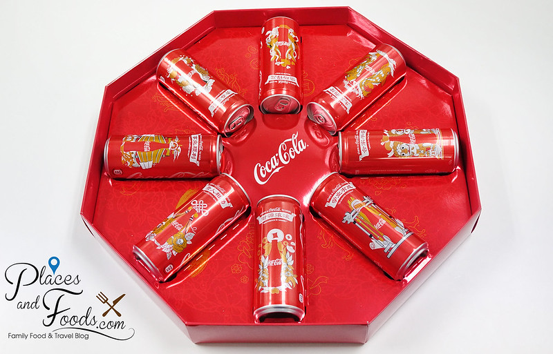 coke cny 2016 box set cans