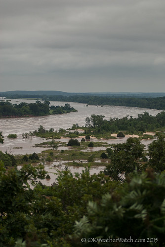 river flooding dam eufaula