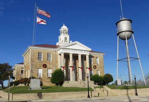 Winston County Courthouse and Water Tower (Double Springs, Alabama)
