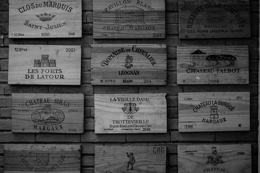 Wine box covers as decor