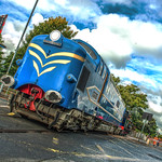 Prototype Deltic DP1 at Preston Dock Strand Road Level Crossing14.09.2015 Awesome Angle Photo Shoot.jpg