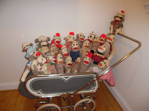 sock monkey carriage2