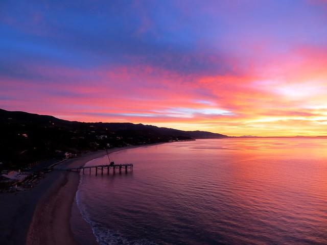 paradise cove sunrise