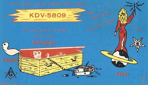 radio vintage space mason ghost casket missouri planet qsl cb coffin cbradio flatriver