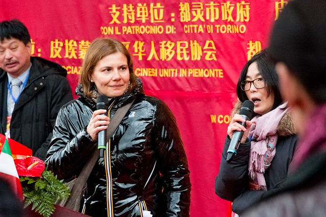 The director of the Confucius Institute in Turin.