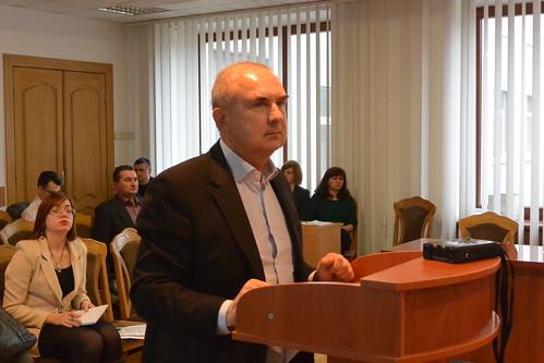 Директор медколеджу заявив, що звітувати на сесії облради не буде, бо «ЗМІ оприлюднять»