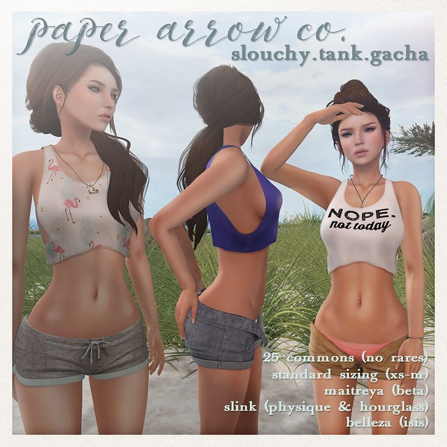 paper.arrow slouchy.tank gacha.advert