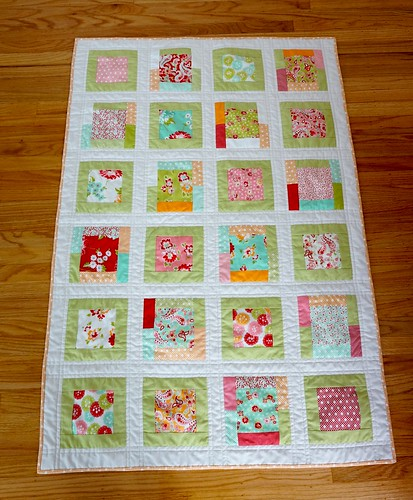 Scrumptious Toddler Quilt #finishitfebruary