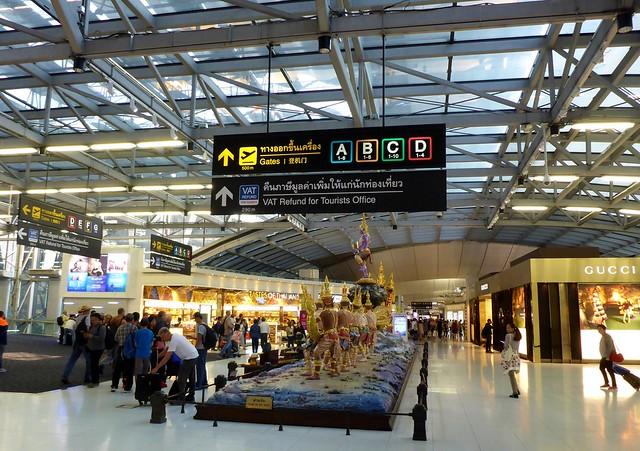 Suvarnabhumi Airport (BKK) - Official Airports of Thailand