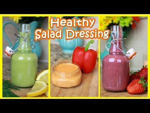 Healthy Salad Dressing Recipes!   Gluten & Dairy Free