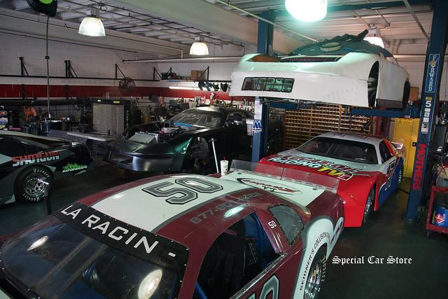 LA Racing at NASCAR K&N Pro Series West practice