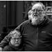 Loving Couple - Abbey Yard Bath by David Lewis-Baker