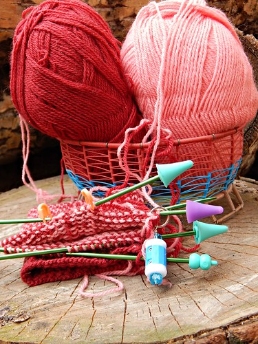 разноцветное вязание | Хорошо.Громко.