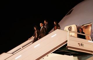 Los Obama en la Argentina