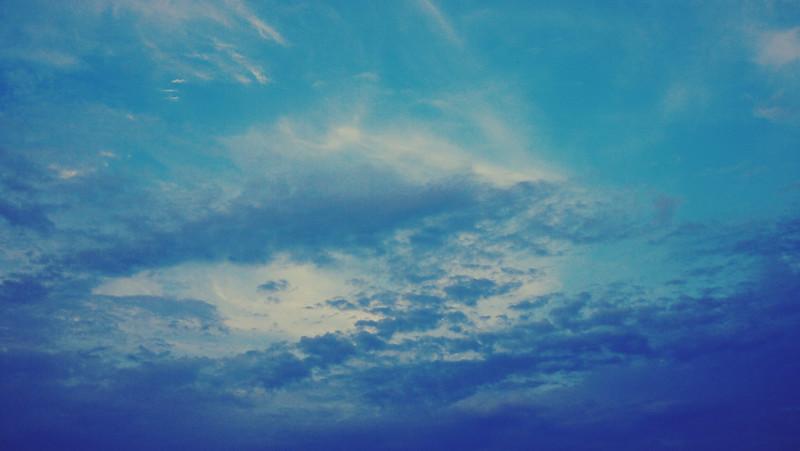 sky fluff nature stories