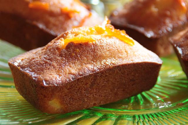 caketjes met mandarijn