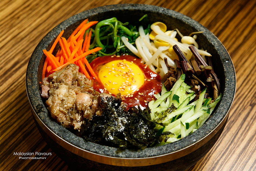 Kyung Joo Korean Restaurant Mid Valley KL chicken bibimbap