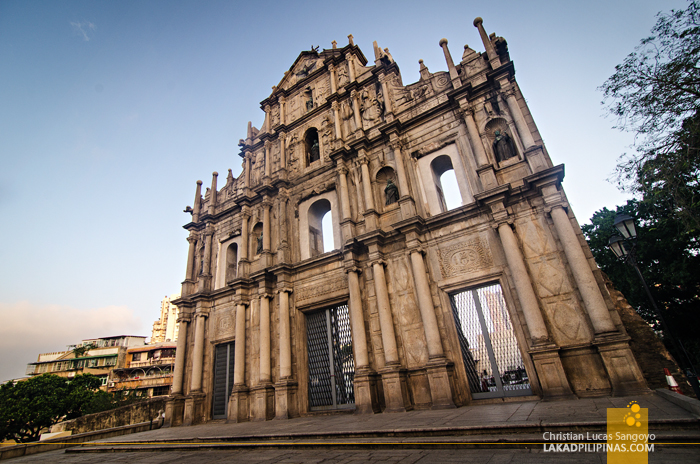 Unesco Ruins of St. Paul's Macau China