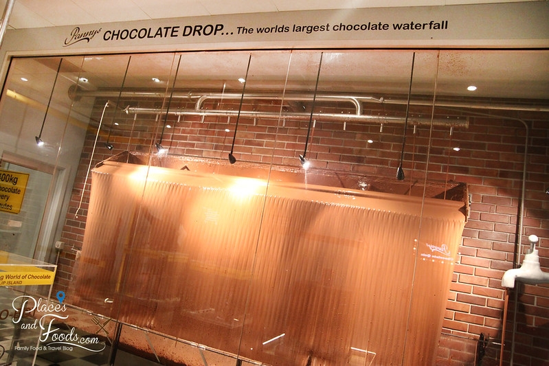 philip island chocolate factory waterfall