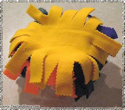 How to: No Sew Fleece Cube / Box Shelf 25694632234_6ac84a1733