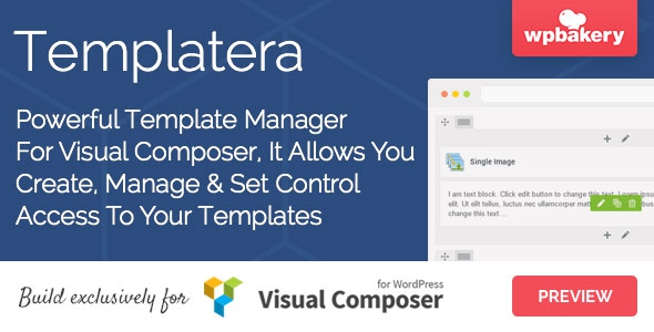 Templatera v1.1.11 – Template Manager for Visual Composer