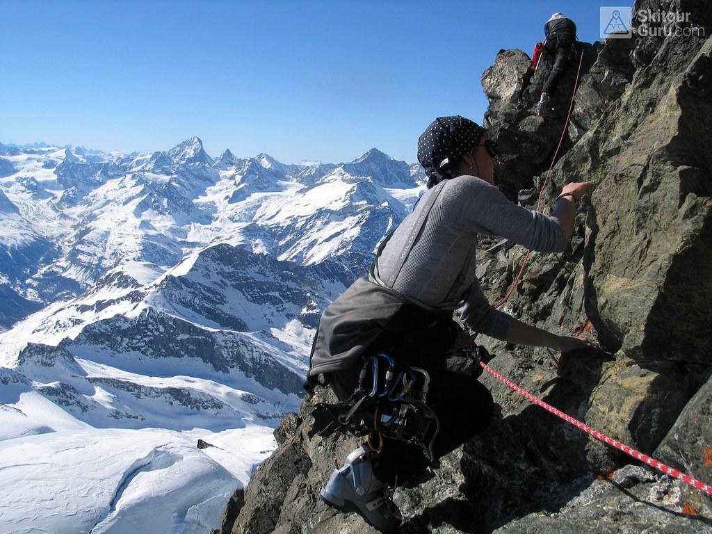 Rimpfischhorn Walliser Alpen / Alpes valaisannes Switzerland photo 17