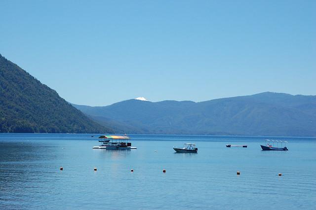 Playa Negra, Lago Caburgua, Caburgua, near Pucón, Chile