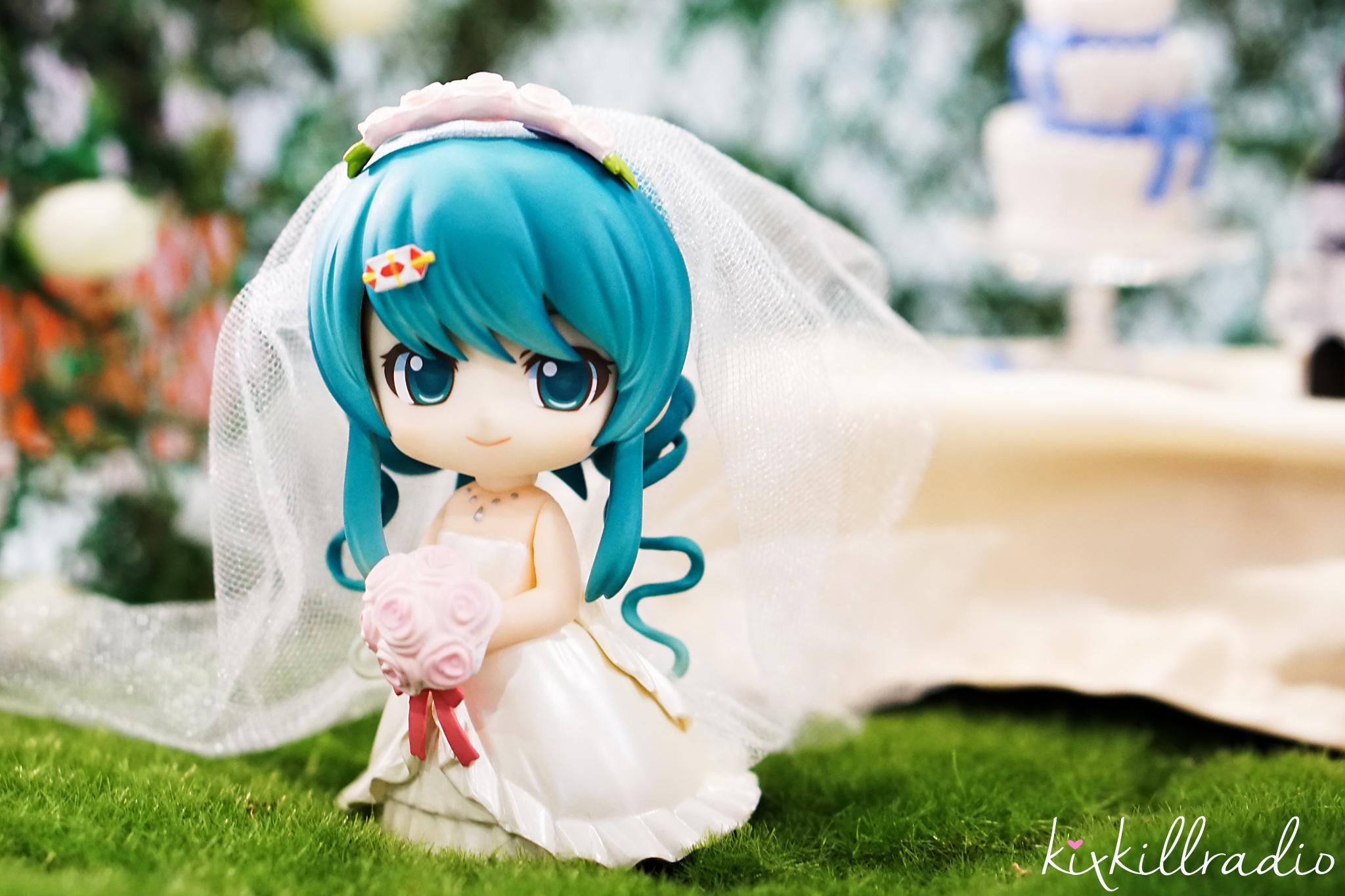 Wedding Diorama set up at Sony Workshop