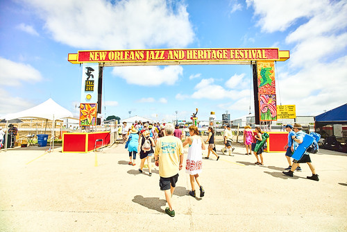 Jazz Fest 2016 Day 1.  Photo by Eli Mergel