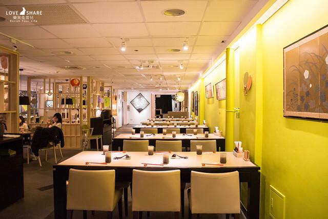 【台中草悟道美食餐廳】來草悟道不吃不行的餐廳!這樣Q彈才叫做烏龍麵