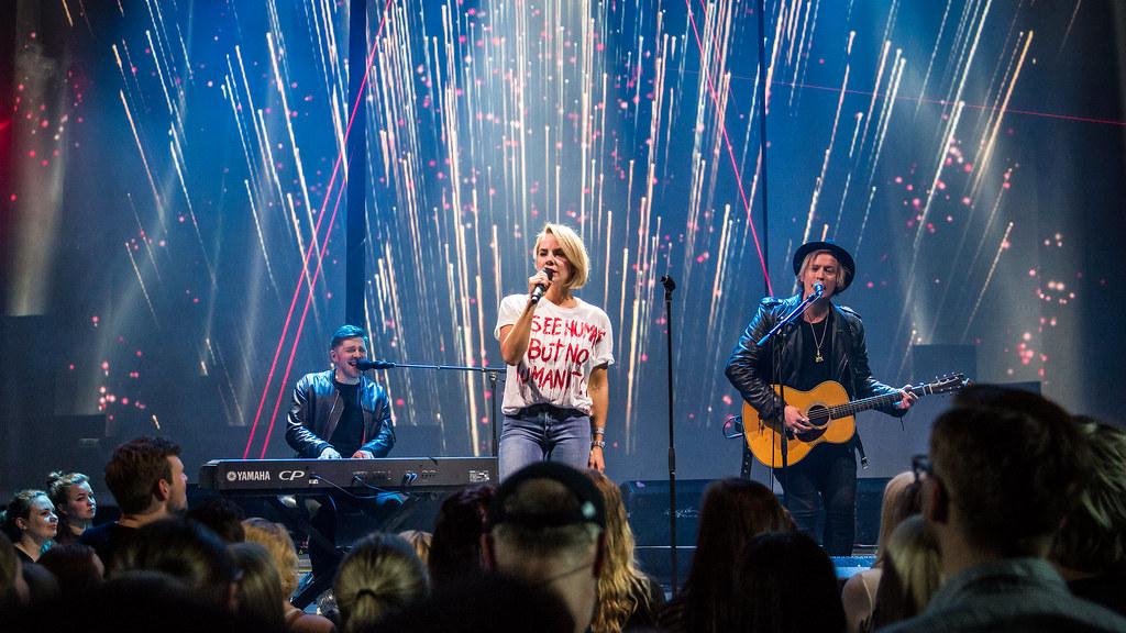 Ina Wroldsen - Christine Live 2016
