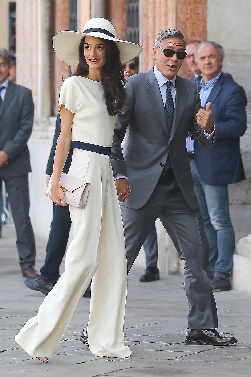 Джордж Клуни женат на Амаль Аламуддин