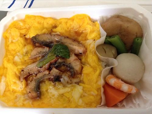 ANA NH10 鳗鱼饭